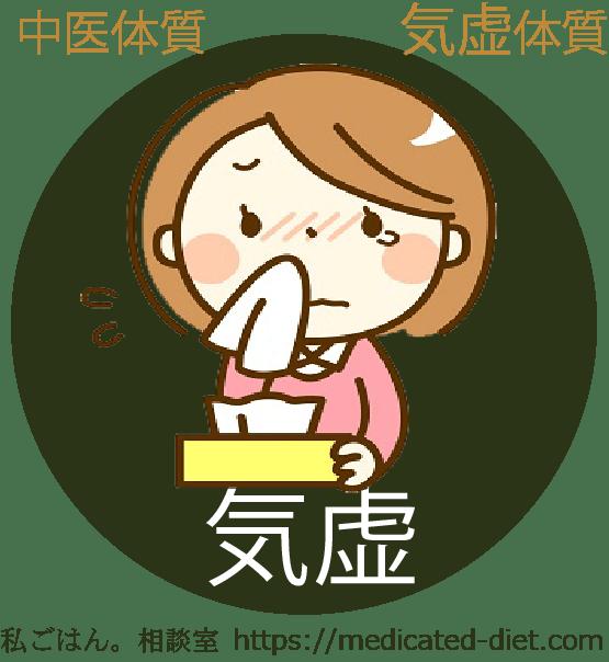 気虚体質の食養生法